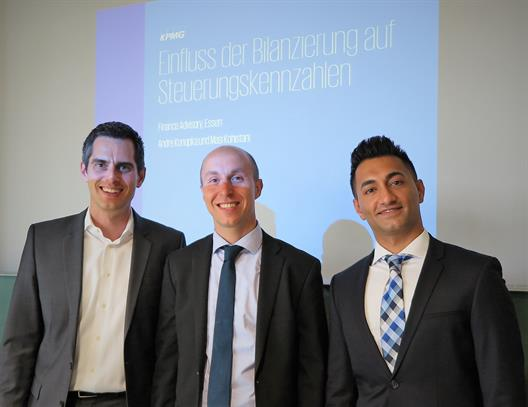 Guest lecture Andre Konopka and Masi Kohistani; KPMG AG