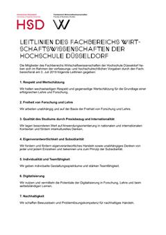 Hochschule Düsseldorf - University of Applied Sciences