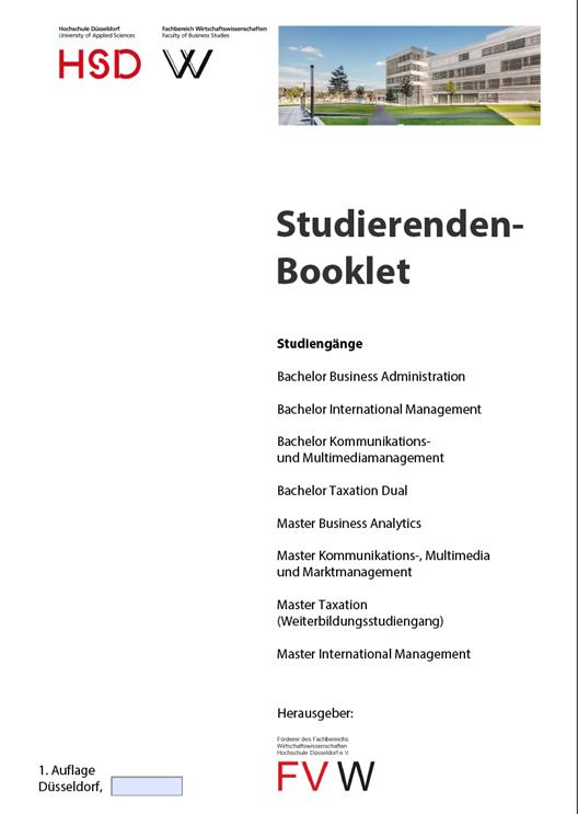 cover student booklet