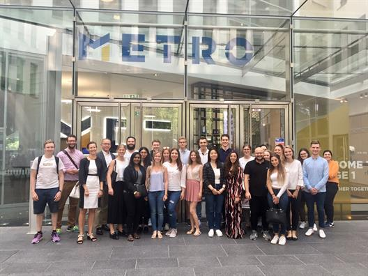 Excursion to METRO AG - Commercial Private Law II and Specialization Employment Law