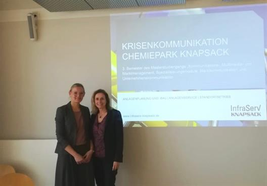 Guest lecture Crisis Communication Chemical Park Knapsack