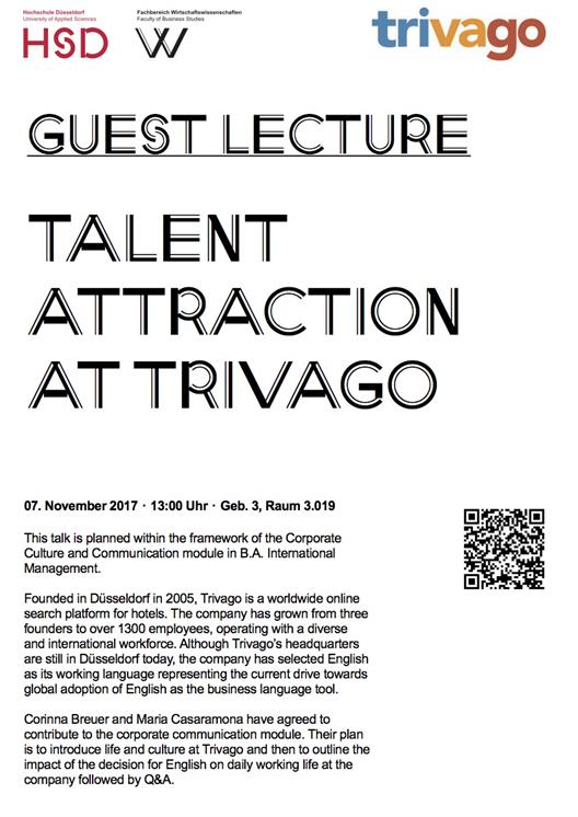 Talent Attraction at trivago
