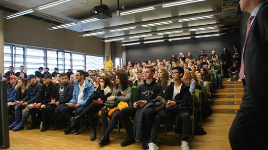 The audience at the Open Day 2018