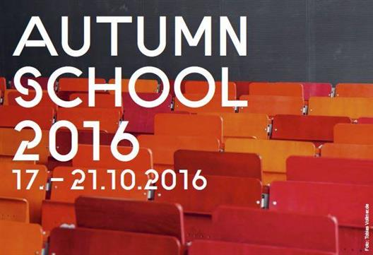 Autumn School 2016